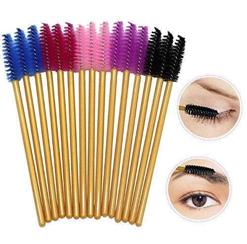 Disposable Eyelash Mascara Brushes Wands for Extension Makeup Applicator Tool Bulk, 250 Pcs Erlvery DaMain