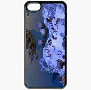 Personalized iPhone 5C Cell phone Case/Cover Skin Age Of Empires Iii Black