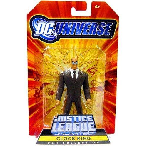 Mattel DC Universe Justice League Unlimited Exclusive Action Figure Clock - Justice Mattel League Unlimited