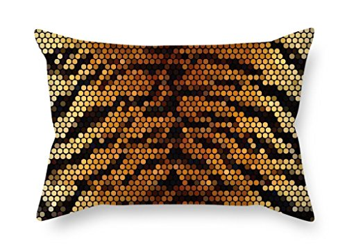 Sophia Emma The Snake Skin Throw Cushion Covers Of, Inches/50 By 65 Cm Decoration,gift For Bedroom,dance Room,monther,kitchen,couch,seat (2 Sides) Emma Snake