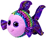 ty fish - TY Beanie Boo Flippy - Multicolored Fish Med Plush