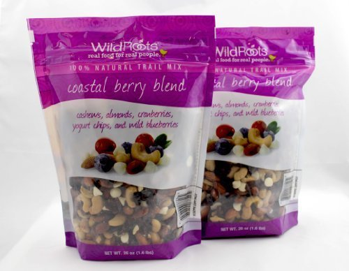 Wild Roots 100% Trail Mix Coastal Berry Blend (2 Pack - 26 Oz Ea) by Wild (100 Wild Berry)