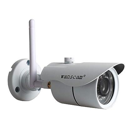 Rabusion WANSCAM HW0043 - Cámara de Seguridad IP inalámbrica para Exteriores (720P, HD,