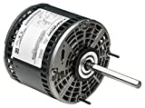 Marathon 48A11O2046 Direct Drive Motor, 1 Phase, Open Air Over, Thru-Bolt, Ball Bearing, 3/4 hp, 1075 rpm, 3 Speeds, 208-230 VAC, 48Y Frame, Permanent Split Capacitor