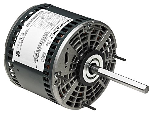 Marathon 48A11O2046 Direct Drive Motor, 1 Phase, Open Air Over, Thru-Bolt, Ball Bearing, 3/4 hp, 1075 rpm, 3 Speeds, 208-230 VAC, 48Y Frame, Permanent Split Capacitor by Marathon