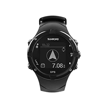 GPS Smart Watch, sunroad GPS Smartwatch Digital Heart Rate ...