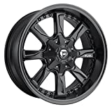 Fuel Hydro 20x9 Black Wheel / Rim 6x135 & 6x5.5 with a 20mm Offset and a 106.4 Hub Bore. Partnumber D60420909857