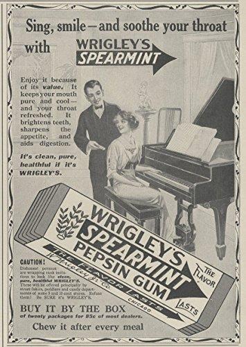 1914 Ad Wrigley
