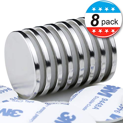 Super Strong Neodymium Disc Magnets with Double-Sided Adhesive Magnets