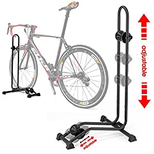 Amazon.com : BIKEHAND Bike Bicycle Floor Parking Rack