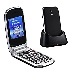 Amazon.com: Easyfone W77 Senior Unlocked GSM Flip Cell ...