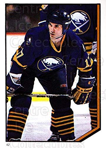 (CI) Mike Foligno Hockey Card 1986-87 O-Pee-Chee Stickers 042-0 Mike Foligno (1986 87 O Pee Chee Hockey Cards)
