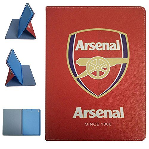 Arsenal Club - ipad Air 2/ipad Air/ipad Pro 9.7-inch Case, Arsenal Football Team Club Pattern PU Leather Flip Case for ipad Pro 9.7-inch/ipad Air 2/ipad Air (Arsenal)