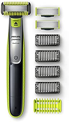 Philips Norelco OneBlade Paquete de bonificación facial + cuerpo ...