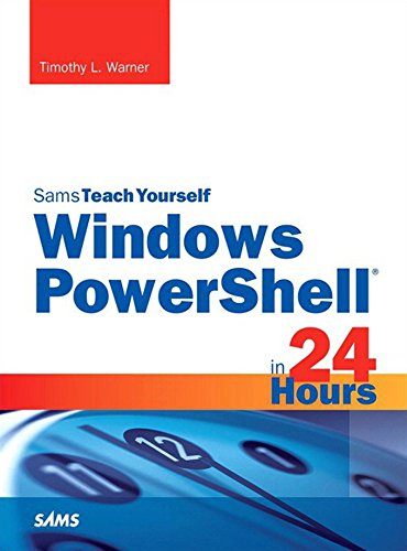 Windows PowerShell in 24 Hours, Sams Teach Yourself Pdf