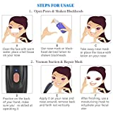 Electric Blackhead Remover, Electric Pore Cleanser, Vacuum Blackhead Remover, USB Rechargeable Electric Skin Cleanser Skin Pore Cleaner with 5 Replaceable Suction Heads