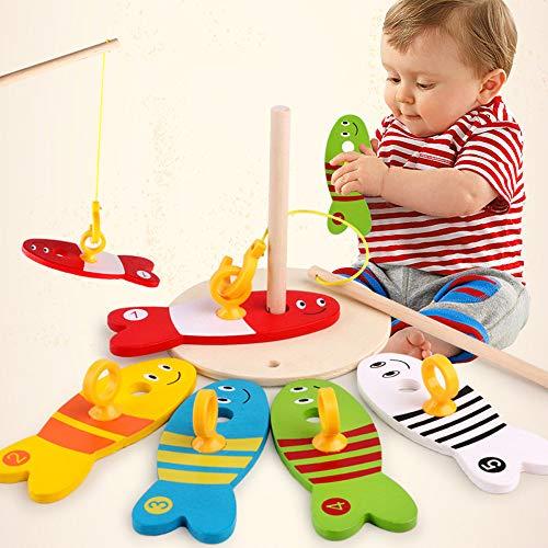 CMrtew ❤️ Baby Kids Fishing Toys Nest Game