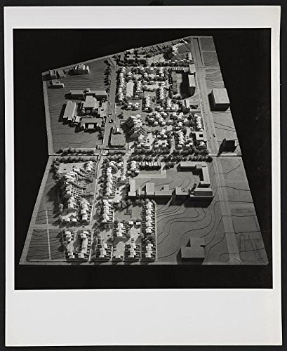 Infinite Photographs Photo: Photo Model from Above of Fort Lincoln Housing,Washington,D.C,c1966,Paul Rudolf