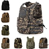Camo SWAT Police Tactical Military Combat Vest Heavy Duty