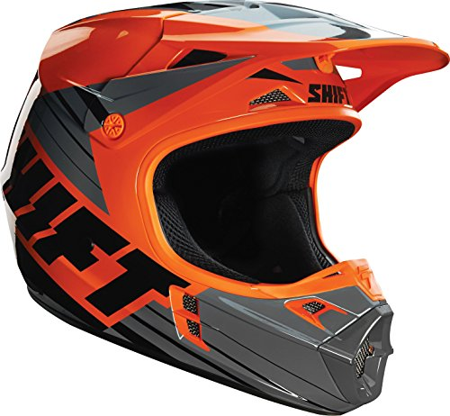 Shift Racing Assault Men's Off-Road Motorcycle Helmets - Orange / (Assault Off Road Helmet)