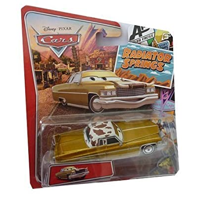 Cars Radiator Springs Tex Dinoco: Toys & Games
