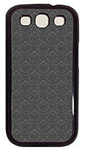 for cheap Samsung S3 cases Bests Grey Design PC Black cover custom Samsung S3