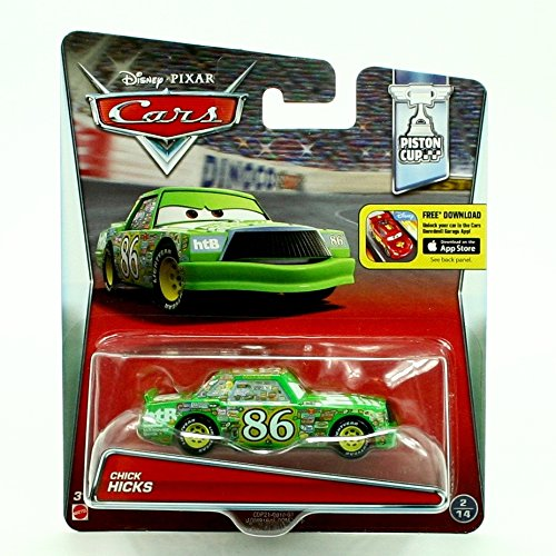 CHICK HICKS #2/14 * Piston Cup * 2015 Disney / Pixar CARS 1:55 Scale Vehicle (Pixar Hicks Chick)