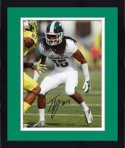 (Framed Trae Waynes Michigan State Spartans Autographed 8