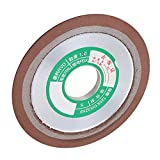 CNBTR Alloy 125mm Hard Steel 1-Tapered Side Diamond Grinding Wheel Polished