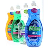 Palmolive Dishwashing Soap 32.5 oz Variety Pack (130 Fl. Oz Total)