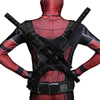 WEDSGTV Disfraz De Cosplay De Deadpool para Niños Adultos De ...