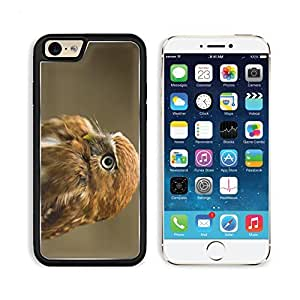 Owl Bird Predator Feathers Hawk Nature Portrait Apple iPhone 6 TPU Snap Cover Premium Aluminium Design Back Plate Case Customized Made to Order Support Ready Liil iPhone_6 Professional Case Touch Accessories Graphic Covers Designed Model Sleeve HD Templat