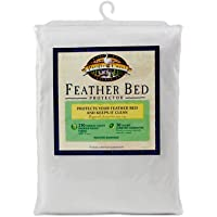 Pacific Coast\xae Feather Bed Cover w zip closure King 80x86 Inch