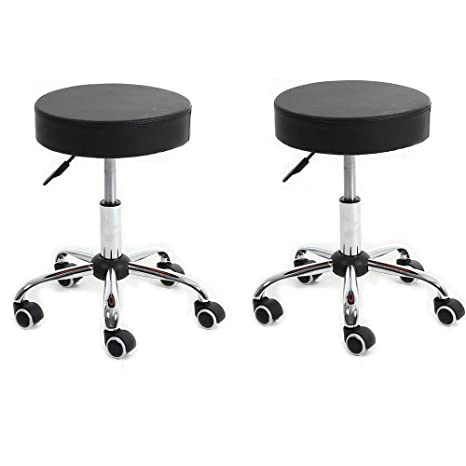 Admirable Amazon Com Height Adjustable Bar Chairs Black Bar Chairs Creativecarmelina Interior Chair Design Creativecarmelinacom