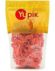 Yupik Candy Sour Strawberry Bricks, 1Kg