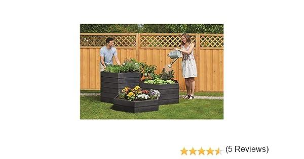 GRAF Ergo Bancal Sistema de 110 x H25 cm, KST.: Amazon.es: Jardín