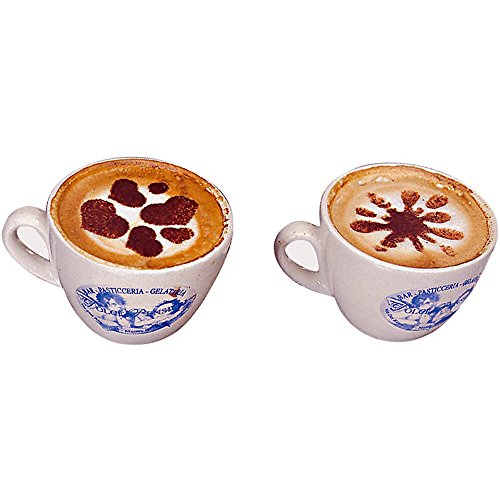 Paderno World Cuisine Set of 10 Assorted Cappuccino Stencils