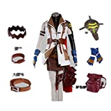 Japanese RPG Final Fantasy Cosplay Costume - Lightning 12 Pcs Set-Large