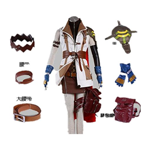 Japanese RPG Final Fantasy Cosplay Costume - Lightning 12 Pcs (Lightning Returns Costumes)