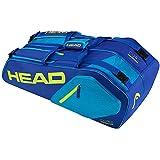 Raqueteira Core 6R Combi 283547BLY Azul/Amarelo - Head
