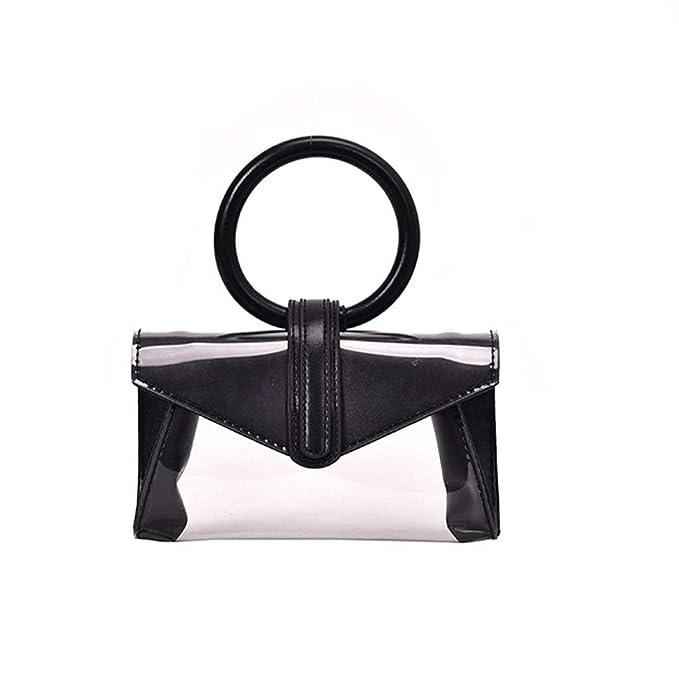 LSCOFFEE - Bolso de Mano para Mujer, diseño Retro ...