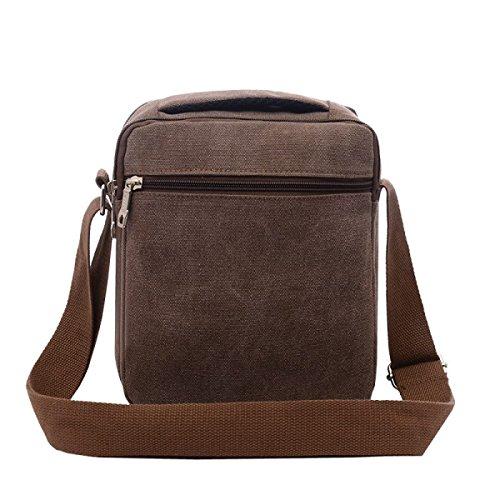 Shoulder Brown purpose Travel Business Messenger Backpack Leisure Men's Bag Laidaye Multi B1v5qF
