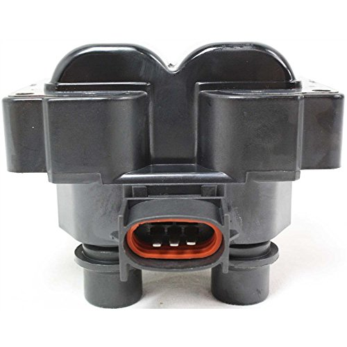 Coil pack Ignition Coil compatible with Ranger 88-01 Ford Escort 91-03 12 Volts 12V Female Connector 3 Male Blade Terminal ()