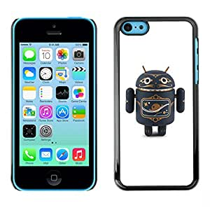 For Apple iPhone 5C Case , Air Toy Figurine Plaything 3D - Diseño Patrón Teléfono Caso Cubierta Case Bumper Duro Protección Case Cover Funda