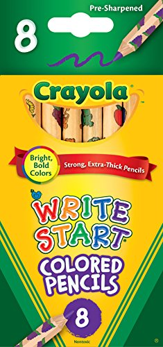 Crayola 8ct Write Start Colored - Chubby Colored Pencil