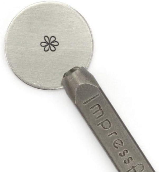 Small 3mm ImpressArt Metal Design Stamp Whimsy Flower