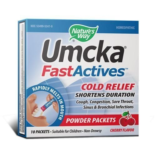 Umcka ColdCare Cherry FastActives Nature