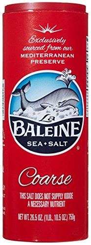 B0086XR2J0 - La Baleine Sea Salt Canister - Coarse - 26.5 oz