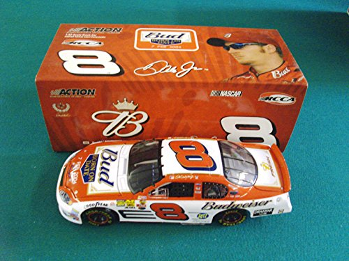 Dale Earnhardt Jr #8 Daytona Bud Shootout Born On Color Scheme Debut 7 February 2004 Budweiser Born ON Date 7 Feb 2004 Edition 1/32 Scale Diecast Action Racing Collectables Club RCCA ARC Limited Edition HOTO Hood Opens Wheels Pose Only 408 Made Individually Serialized