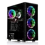 ADMI Gaming PC: i5 9400F 4.1Ghz SIX Core CPU/Nvidia RTX 2060 6GB / 16GB 2400MHz / 240GB SSD + 1TB HDD/RGB Case / 600…